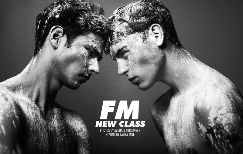 Joshua Moroney, Rory Smith, Chuck Achike, Nick Heymann & Ethan Plewes by Michael Furlonger for Fashionisto Exclusive