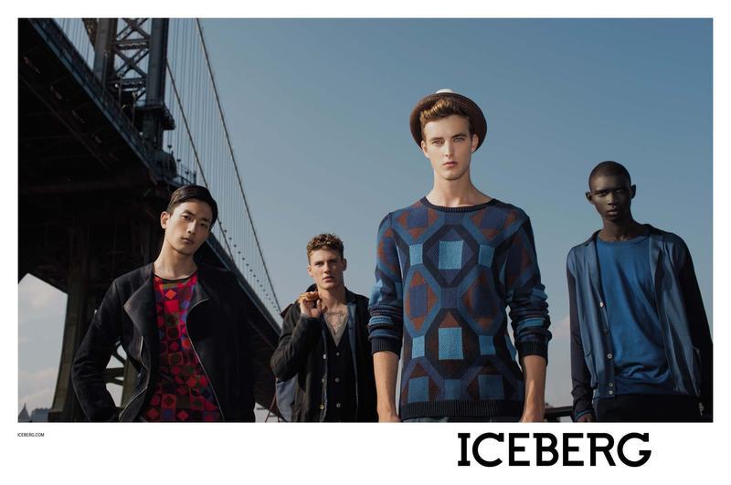 James Smith, Fernando Cabral, Mikkel Jensen & Sung Jin Park for Iceberg Spring/Summer 2013 Campaign