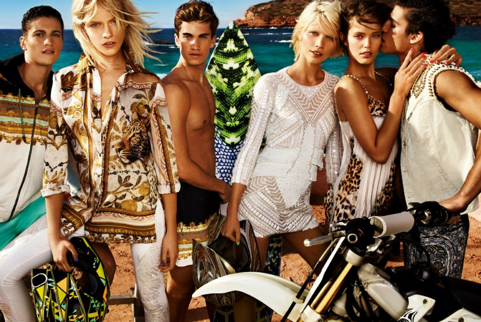 Tomas Guarracino, Chris Bunn & Chris Petersen Spend their Summer in Ibiza for Just Cavalli's Spring/Summer 2013 Campaign