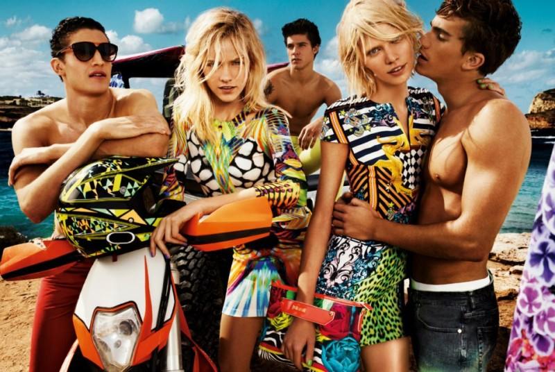 Tomas Guarracino, Chris Bunn & Chris Petersen Spend their Summer in Ibiza for Just Cavalli's Spring/Summer 2013 Campaign