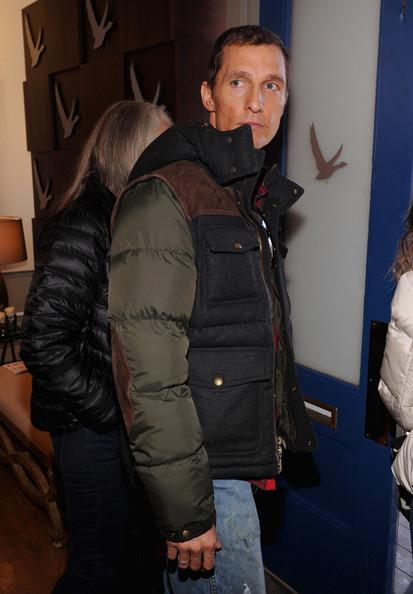Matthew McConaughey & Michael C Hall Hit Sundance in Coach