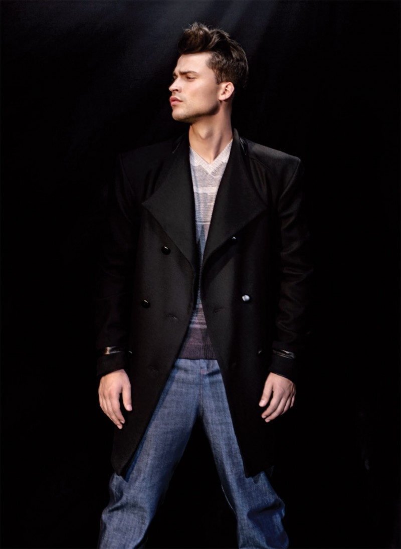 Michel Stachowicz Appears in Myuli Fall/Winter 2013 Lookbook