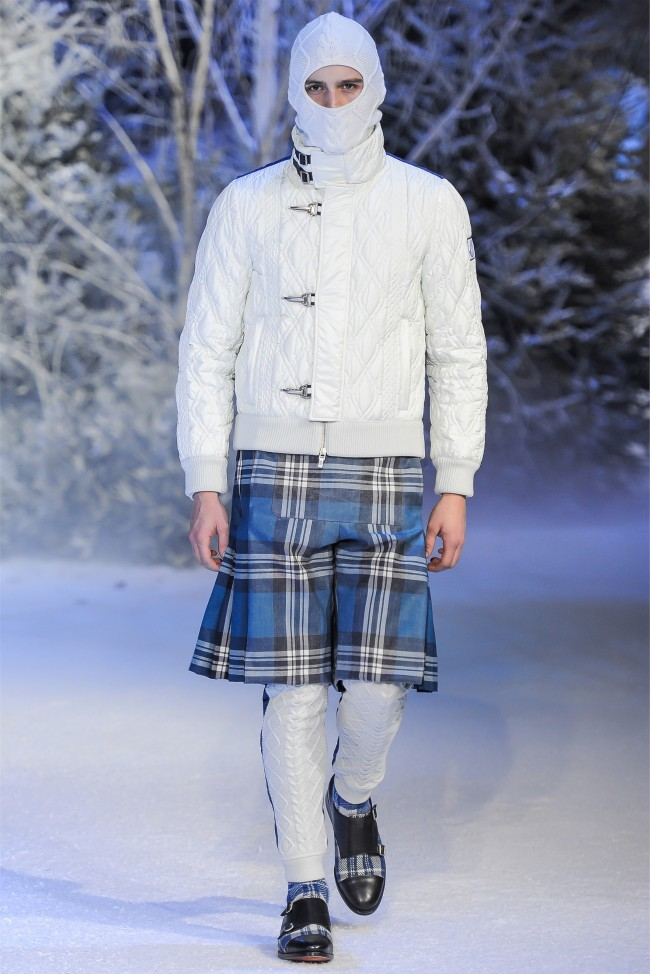Moncler Gamme Bleu Fall/Winter 2013 | Milan Fashion Week image