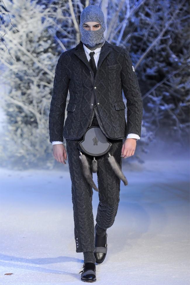 Moncler Gamme Bleu Fall/Winter 2013 | Milan Fashion Week