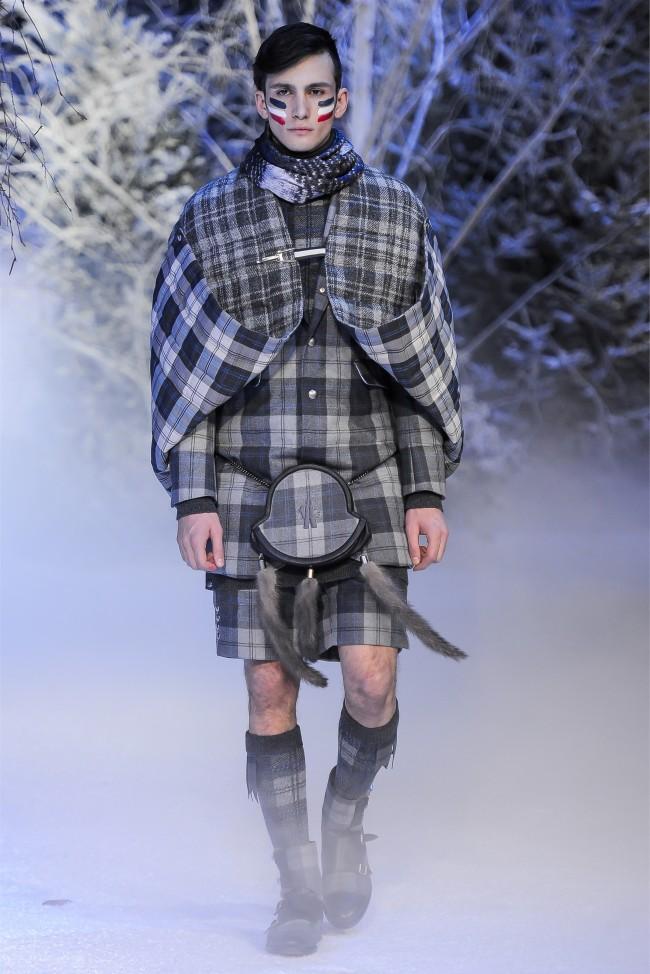 Moncler Gamme Bleu Fall/Winter 2013   Milan Fashion Week