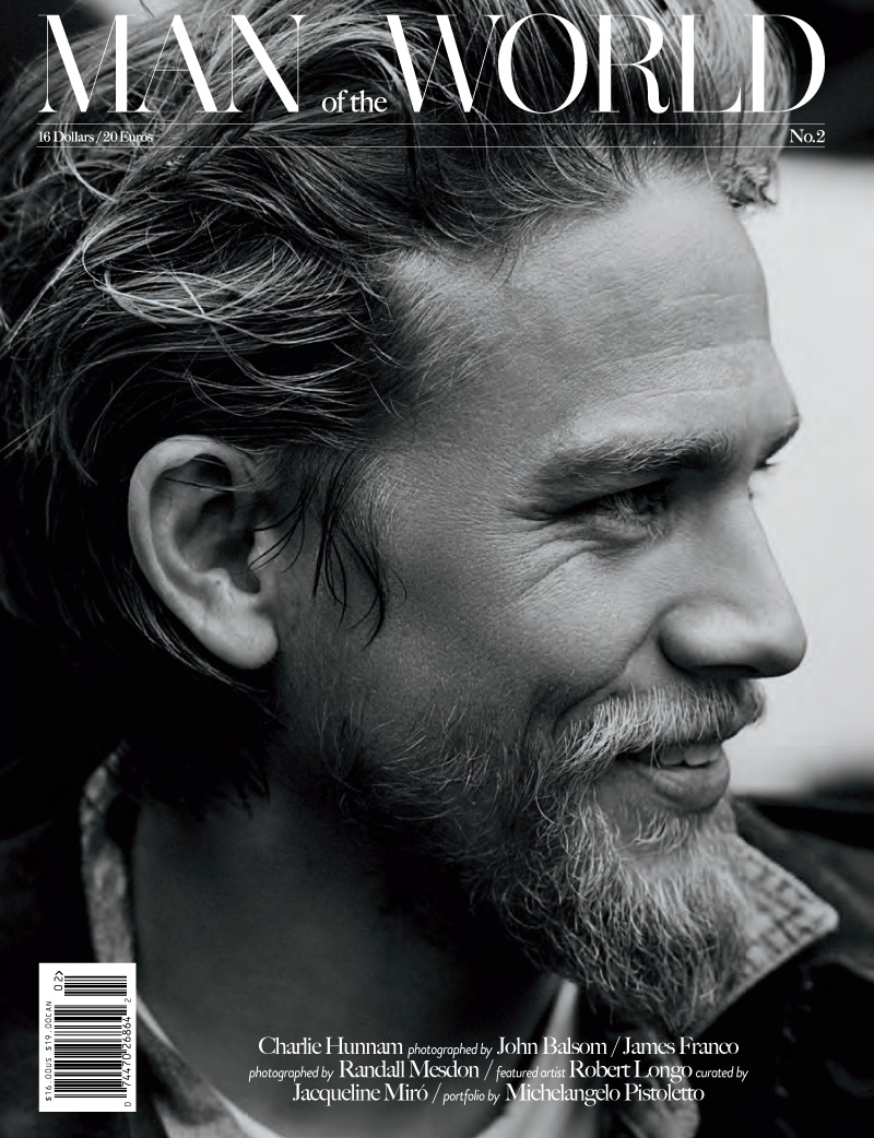 Charlie Hunnam Covers Man of the World #2
