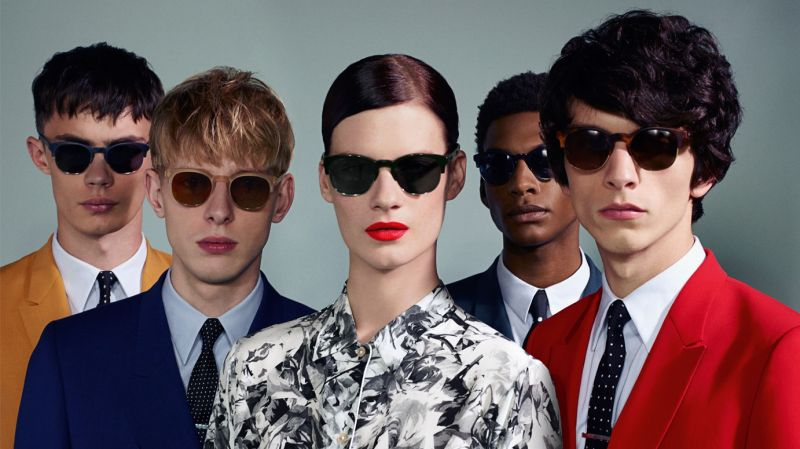 Simon Kotyk, Paul Boche, Thomas Penfound, Jimmy Beauquesne & Ty Ogunkoya Star in Paul Smith's Spring/Summer 2013 Campaign