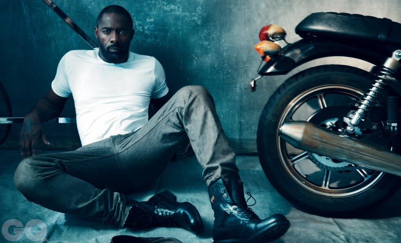 Idris Elba Covers March Issue of British GQ