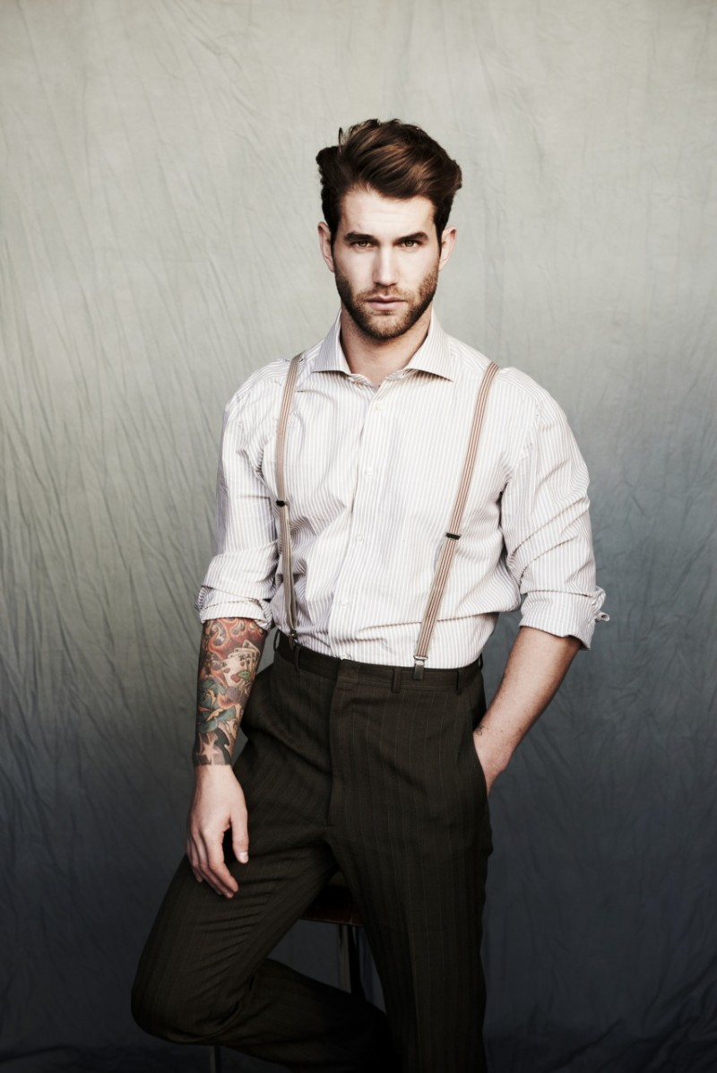 michael brus captures andré hamann in dapper styles