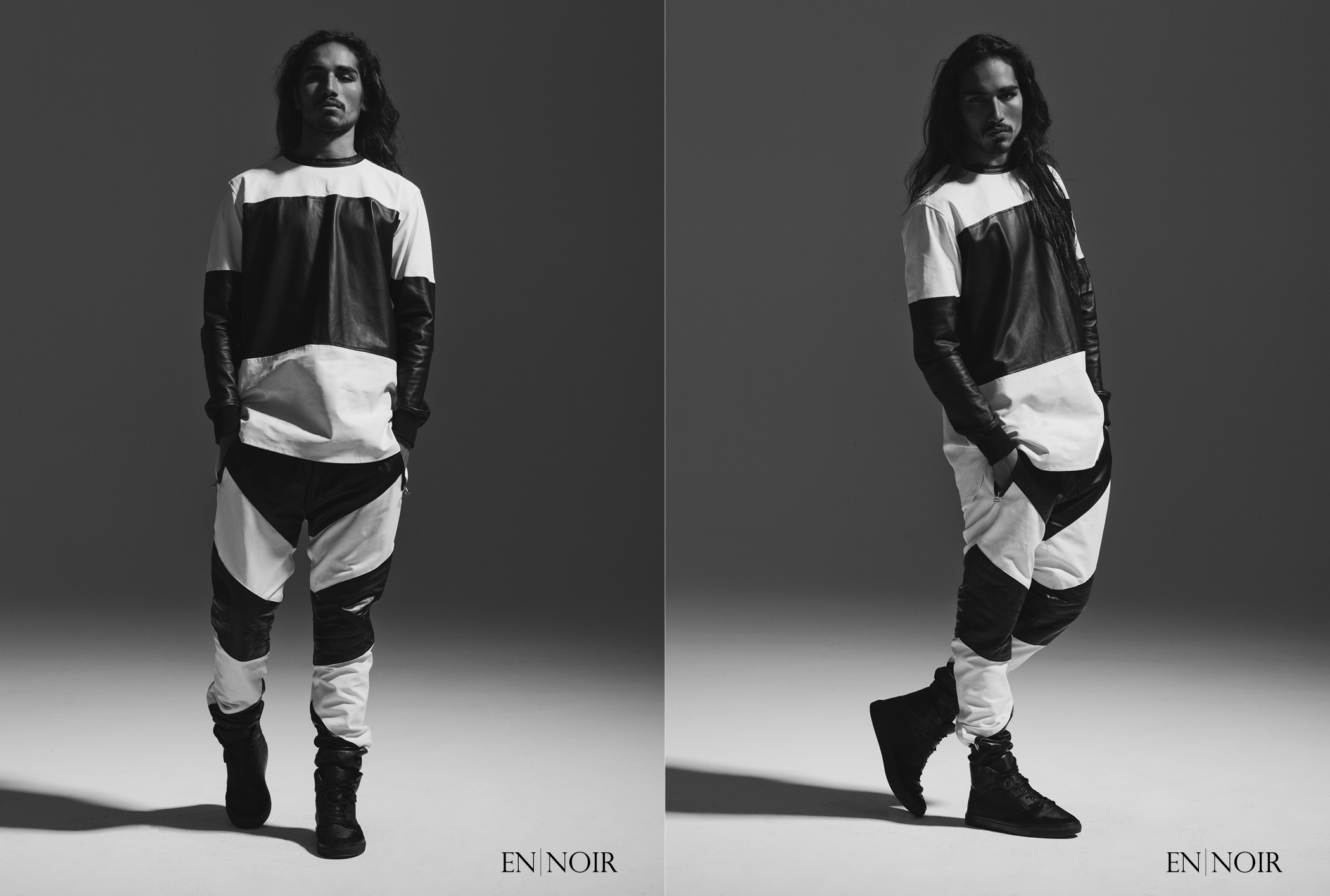 Willy Cartier Dons Black for En Noir Spring/Summer 2013