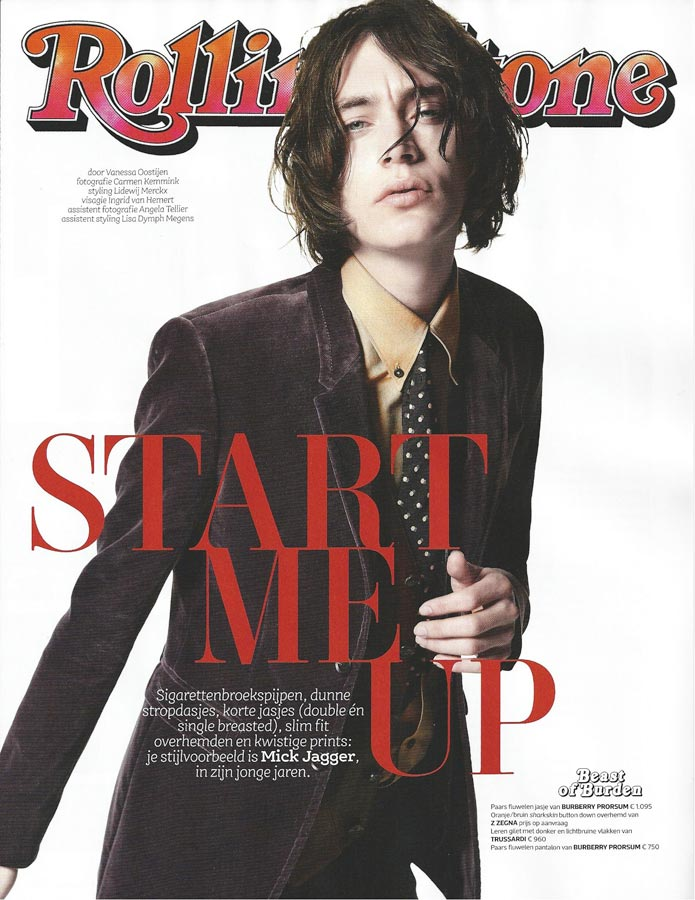Jaco Van Den Hoven is a Rolling Stone for Spanish Esquire