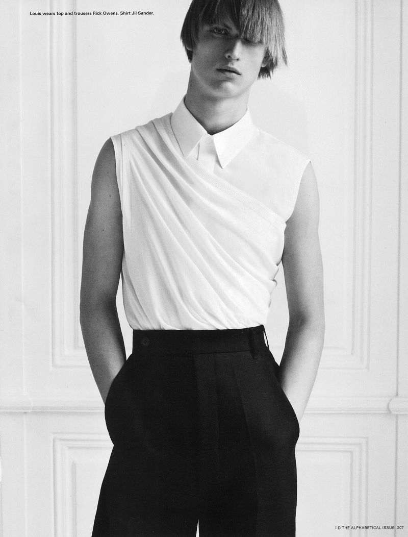 Louis Steyaert Appears in the Pre-Spring 2013 Issue of i-D