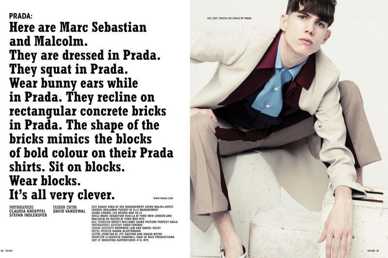 Marc Sebastian Faiella Covers 10 Men in Prada