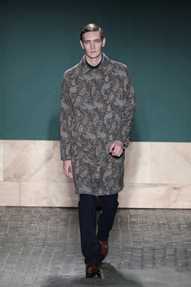 Perry Ellis by Duckie Brown Fall/Winter 2013 | New York Fashion Week