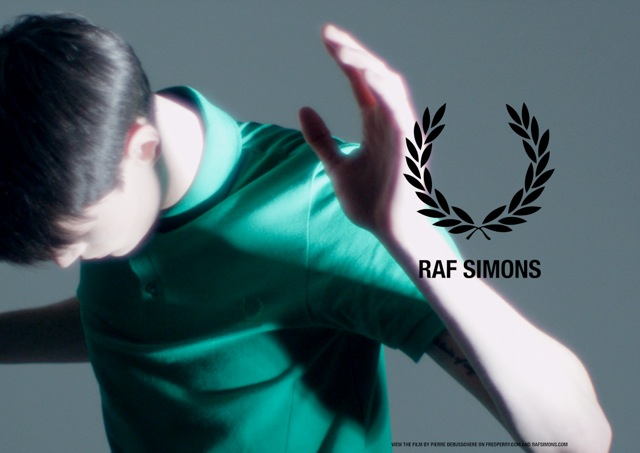 Pierre Debusschere Creates a Film for Raf Simons x Fred Perry Spring/Summer 2013
