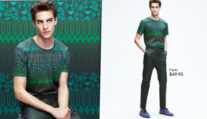 Russell Giardina Plays with Patterns for H&M Spring 2013