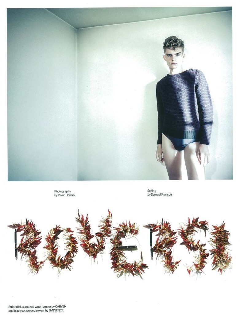 Paolo Roversi Photographs Timothy Kelleher for Man About Town