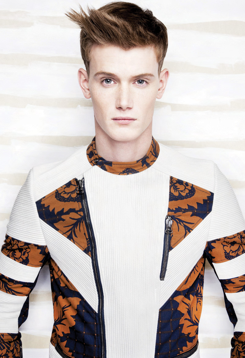 Isaac Weber & Malcolm De Ruiter Cause White Noise for Idol Magazine