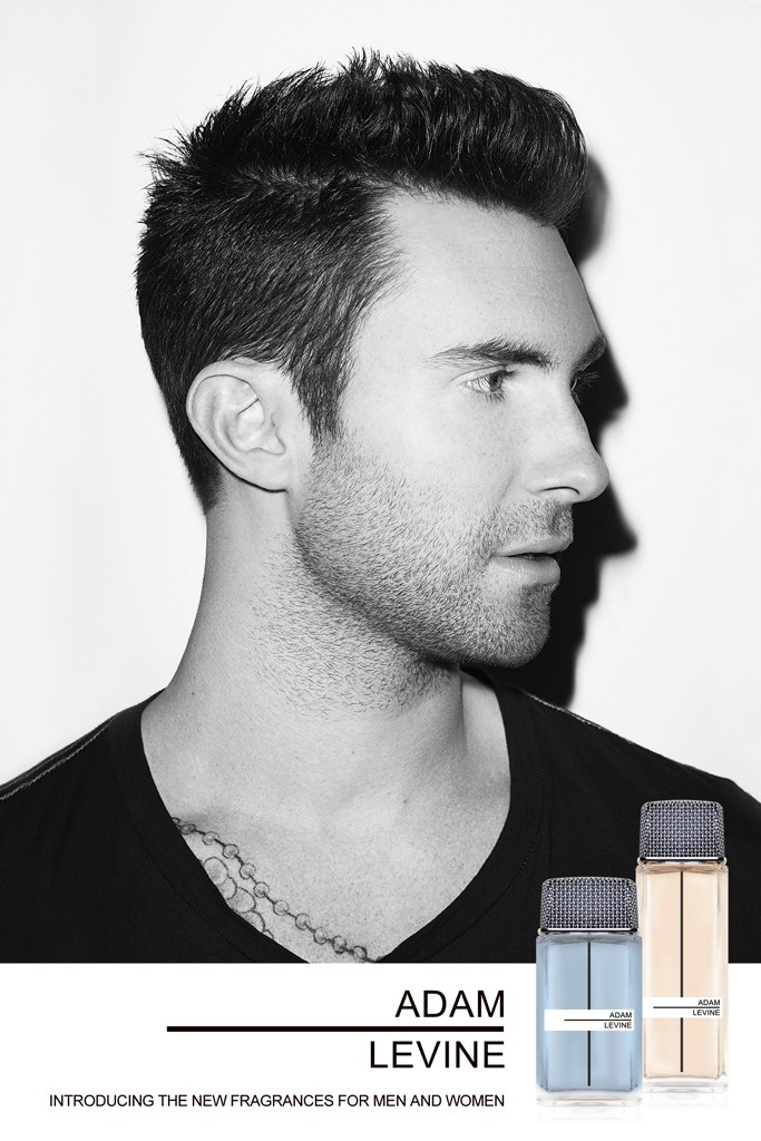 Adam Levine by Terry Richardson for his Debut Fragrance Campaign