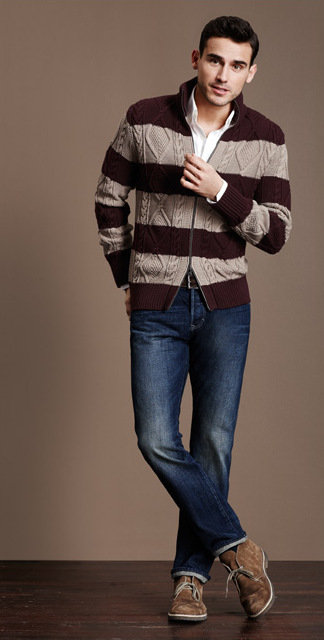 Arthur Kulkov Models Banana Republic's Heritage Collection