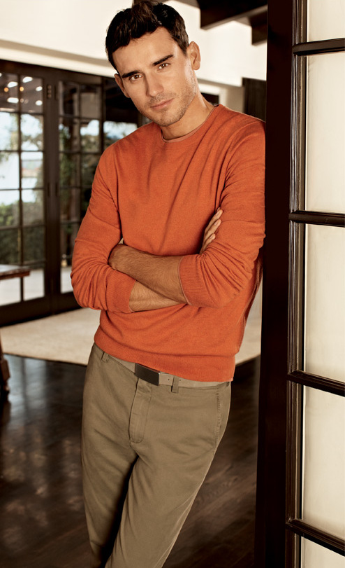 Arthur Kulkov Models Banana Republic's Spring 2013 Collection