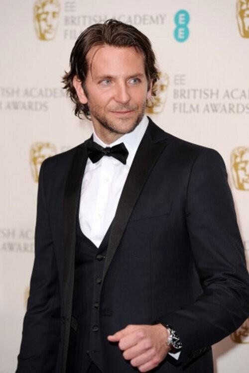 Bradley Cooper Wears Salvatore Ferragamo to the BAFTA Awards