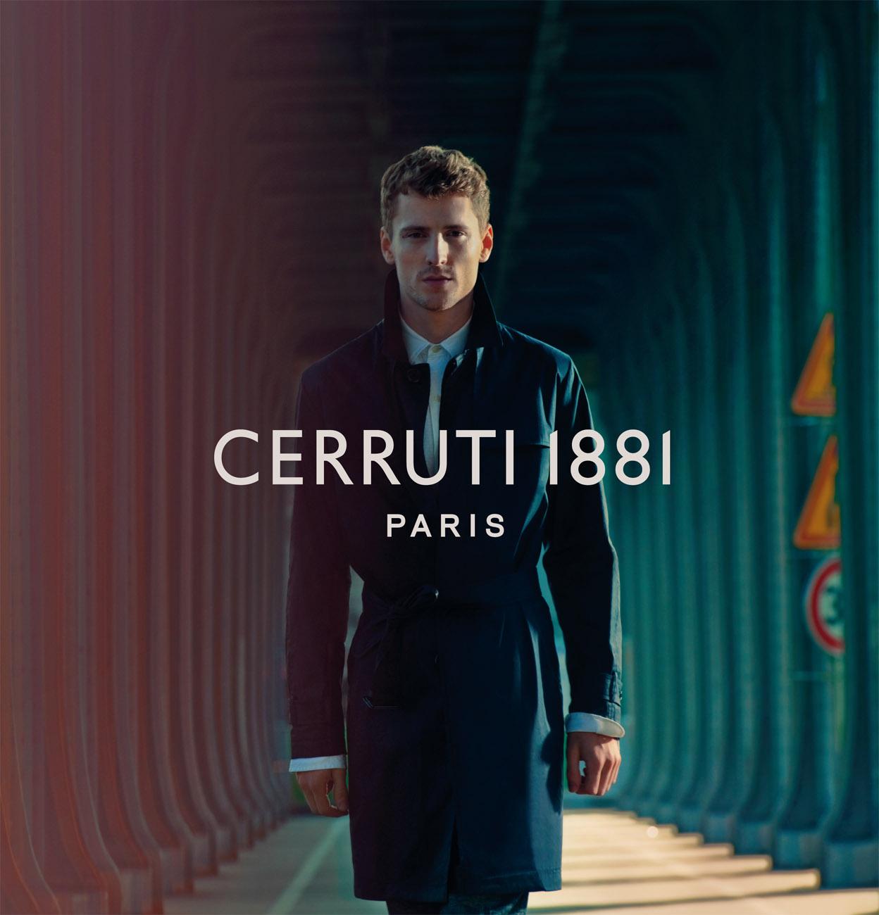 George Barnett Stars in Cerruti 1881 Paris' Spring/Summer 2013 Campaign