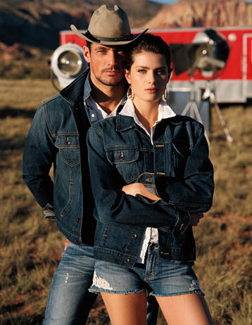 David Gandy is a Dashing Cowboy for Lucky Brand's Spring 2013 Campaign