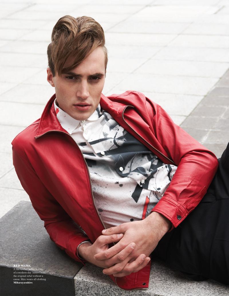 Max Barreau by David Edwards in Miharayasuhiro Spring/Summer 2013 for Fashionisto #6