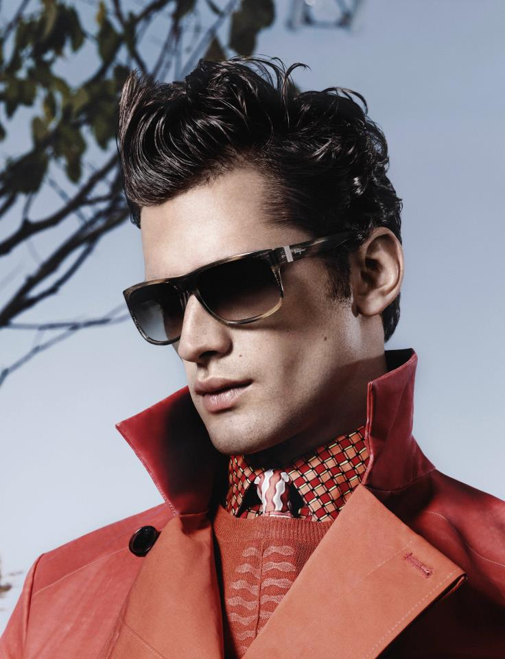 2a5f88d8a15 Salvatore Ferragamo Taps Sean O Pry for its Spring Summer 2013 Eyewear  Campaign