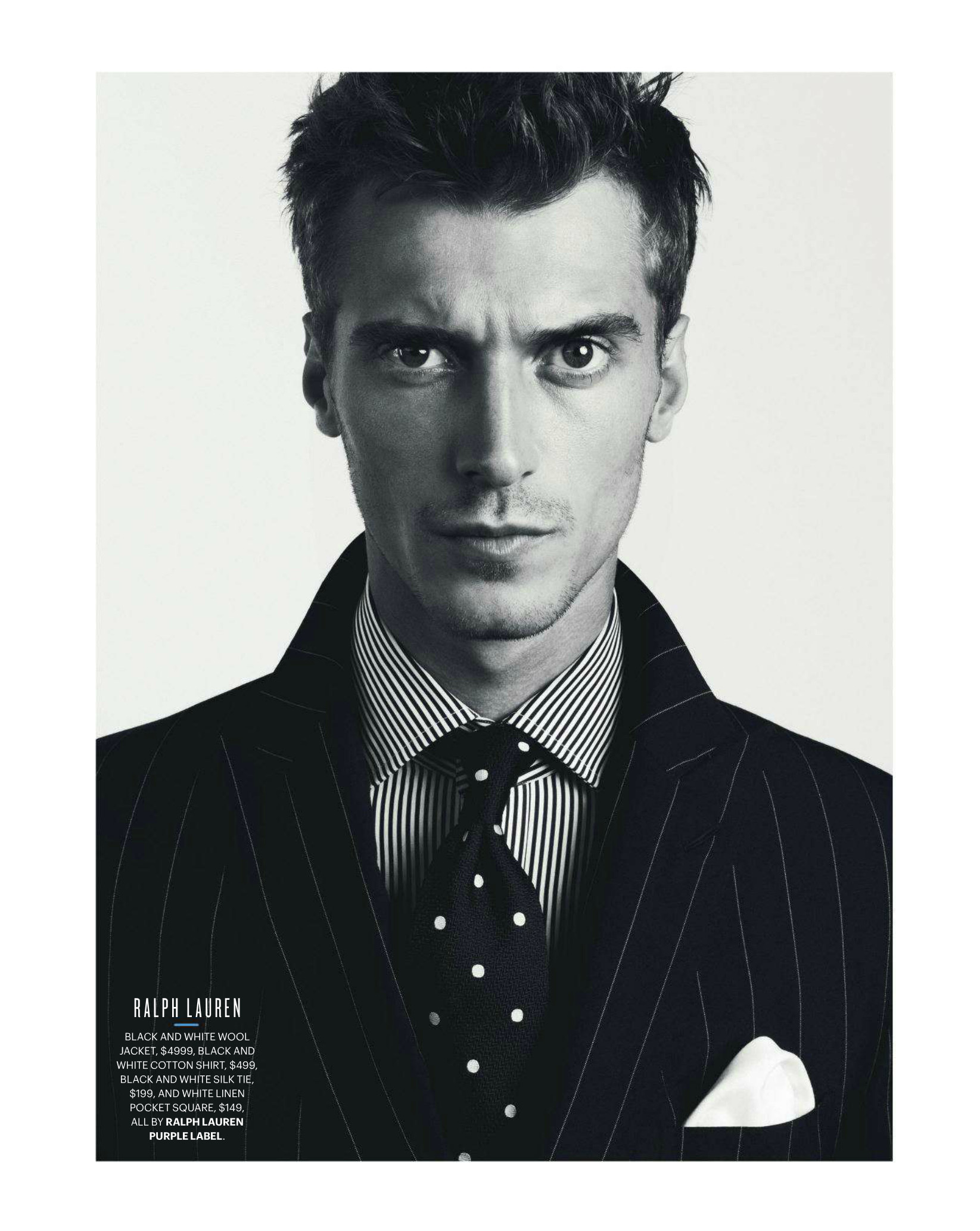 Clément Chabernaud Dons Spring/Summer 2013 Trends for GQ Australia