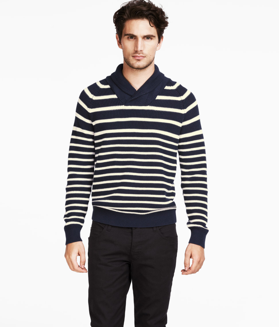 H&M Taps Julien Quevenne to Model its Spring 2013 Casual Styles