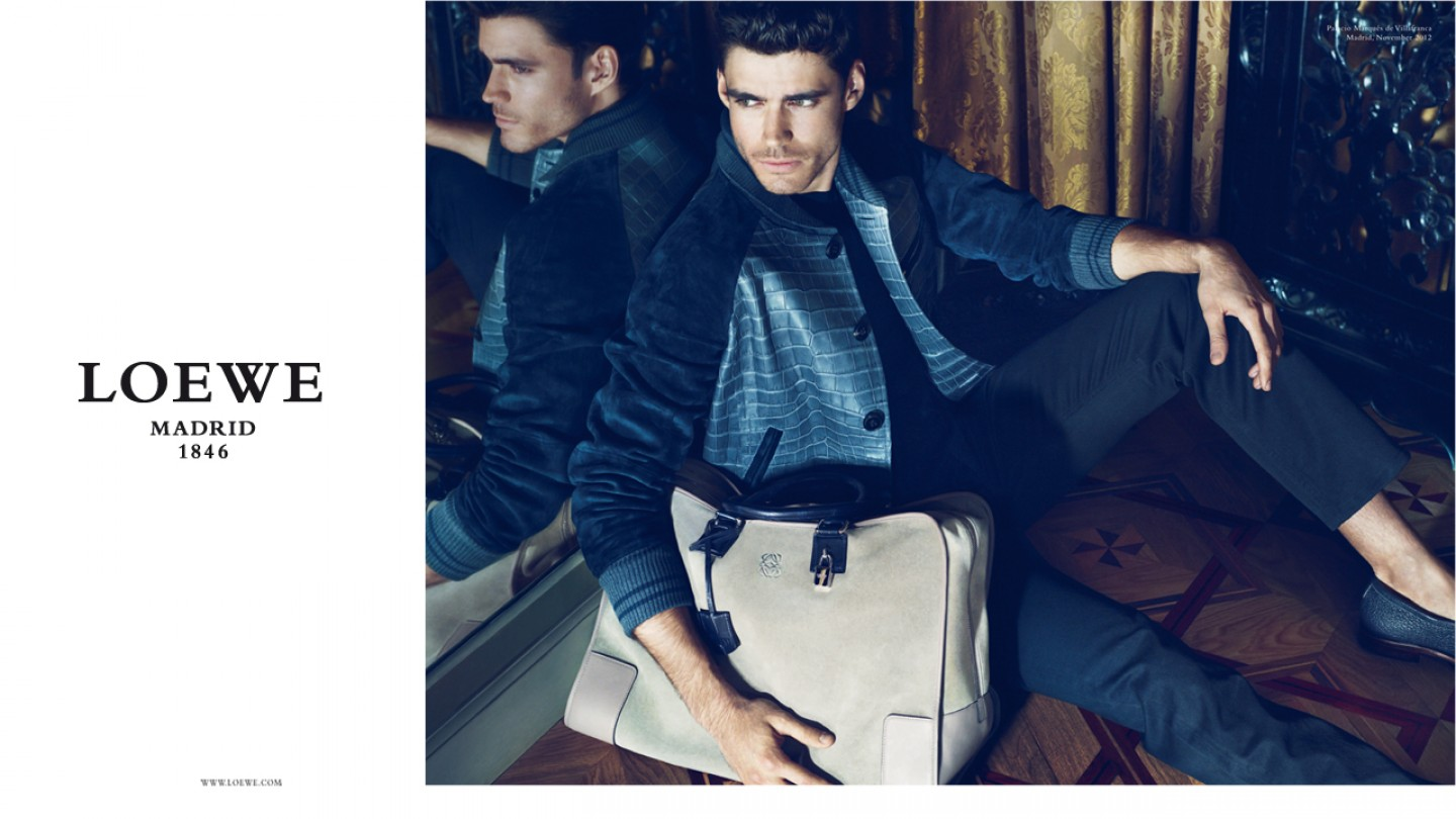 Caio Cesar Fronts Loewe's Spring/Summer 2013 Campaign