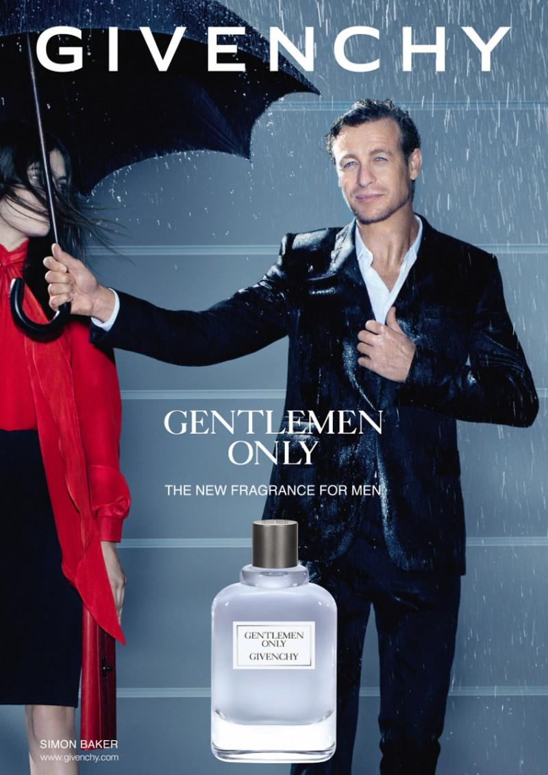 Simon Baker Fronts Givenchy 'Gentlemen Only' Fragrance ...