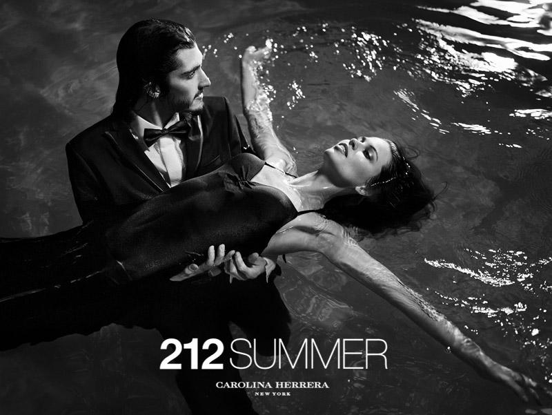 Greg Nawrat, Andres Risso & Fabio Mancini for 212 Summer Carolina Herrera Campaign