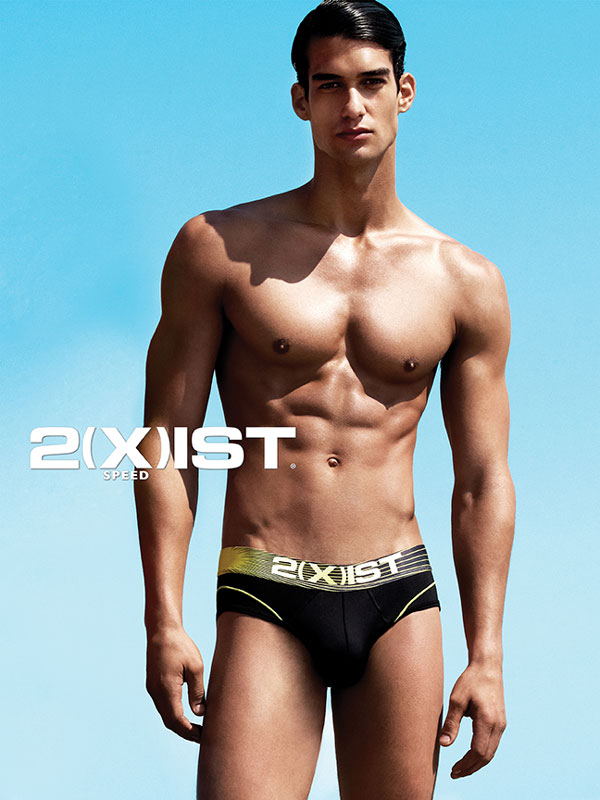 Yu Tsai Captures a Chiseled Kaylan Morgan for 2(x)ist Spring 2013 Campaign