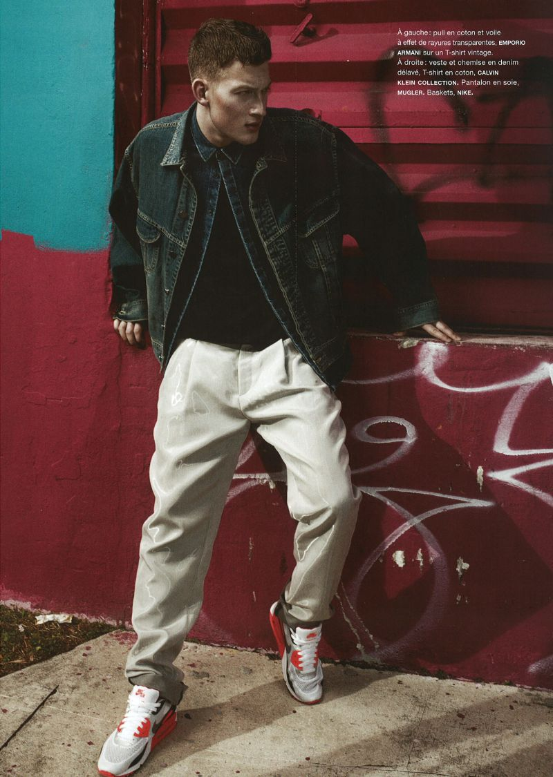 Bastian Thiery Tackles Sporty Fashions for Numéro Homme