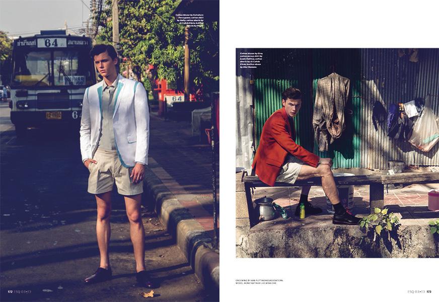 Konstantin Vesnin Enjoys a Weekend Getaway for Esquire Singapore