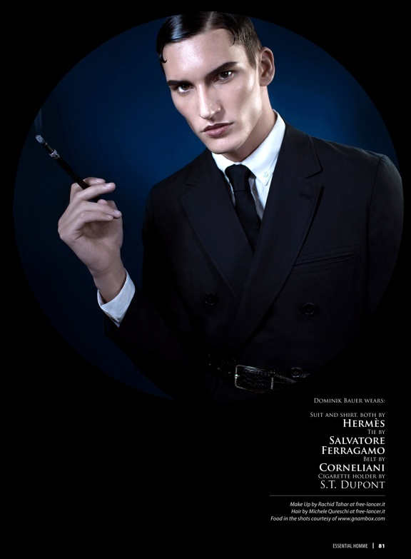 Demy Matzen, Lenz Von Johnston, Janice Fronimakis & More Dine in a Fine Suit for Essential Homme