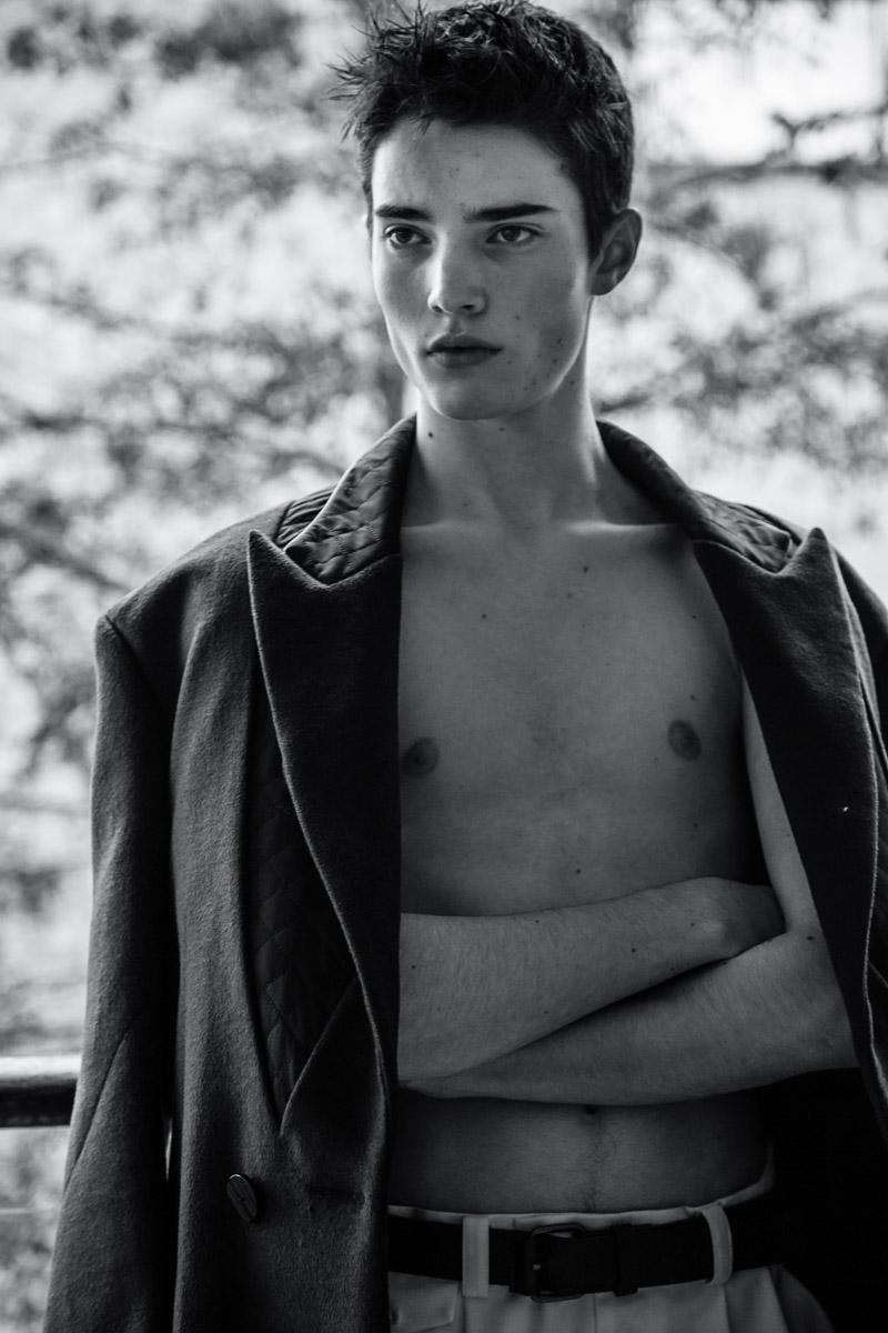 Giuseppe Cardone Shoots Cameron Manocheo for Xiaoqian Wang
