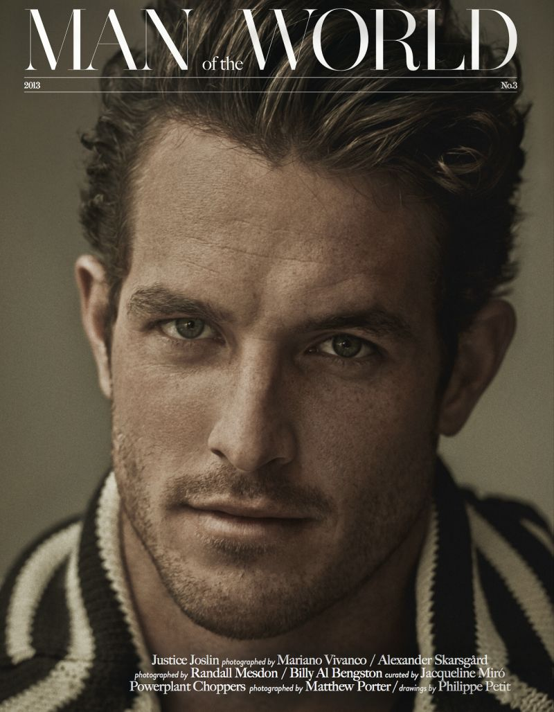 Justice Joslin Covers Man of the World #3