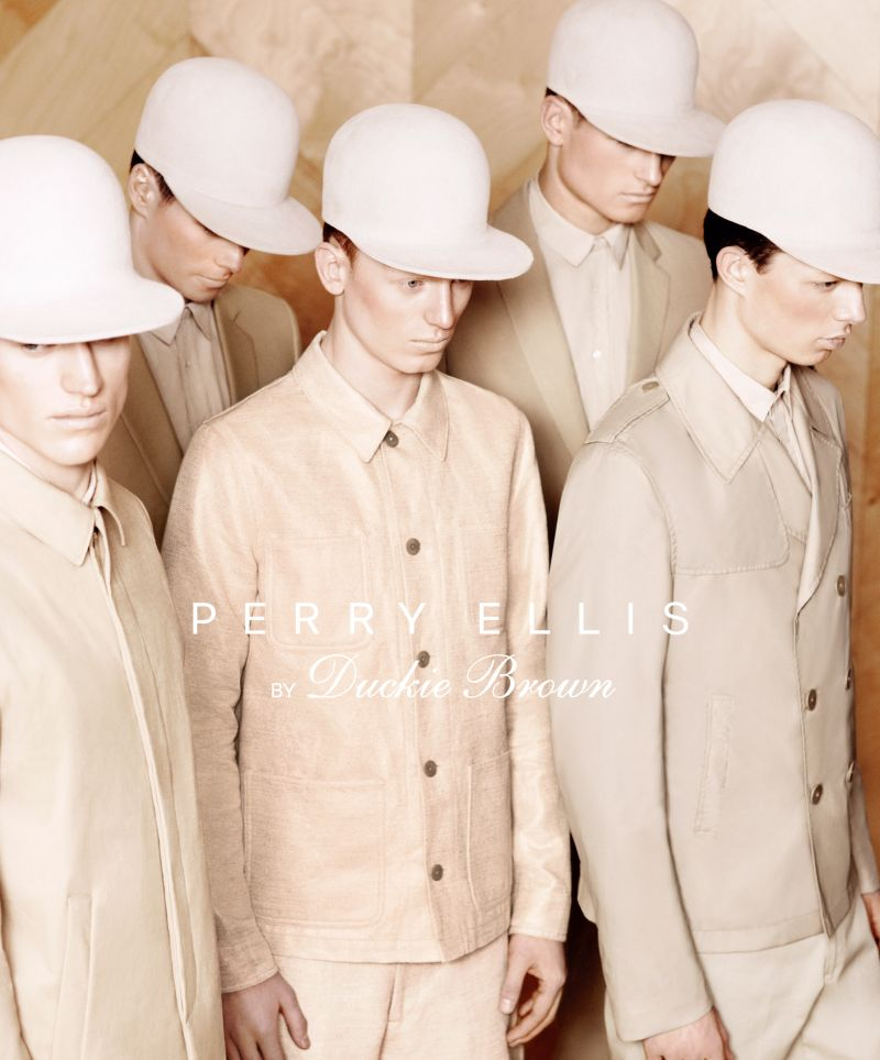 Bruno Staub Shoots Perry Ellis by Duckie Brown's Spring/Summer 2013 Campaign