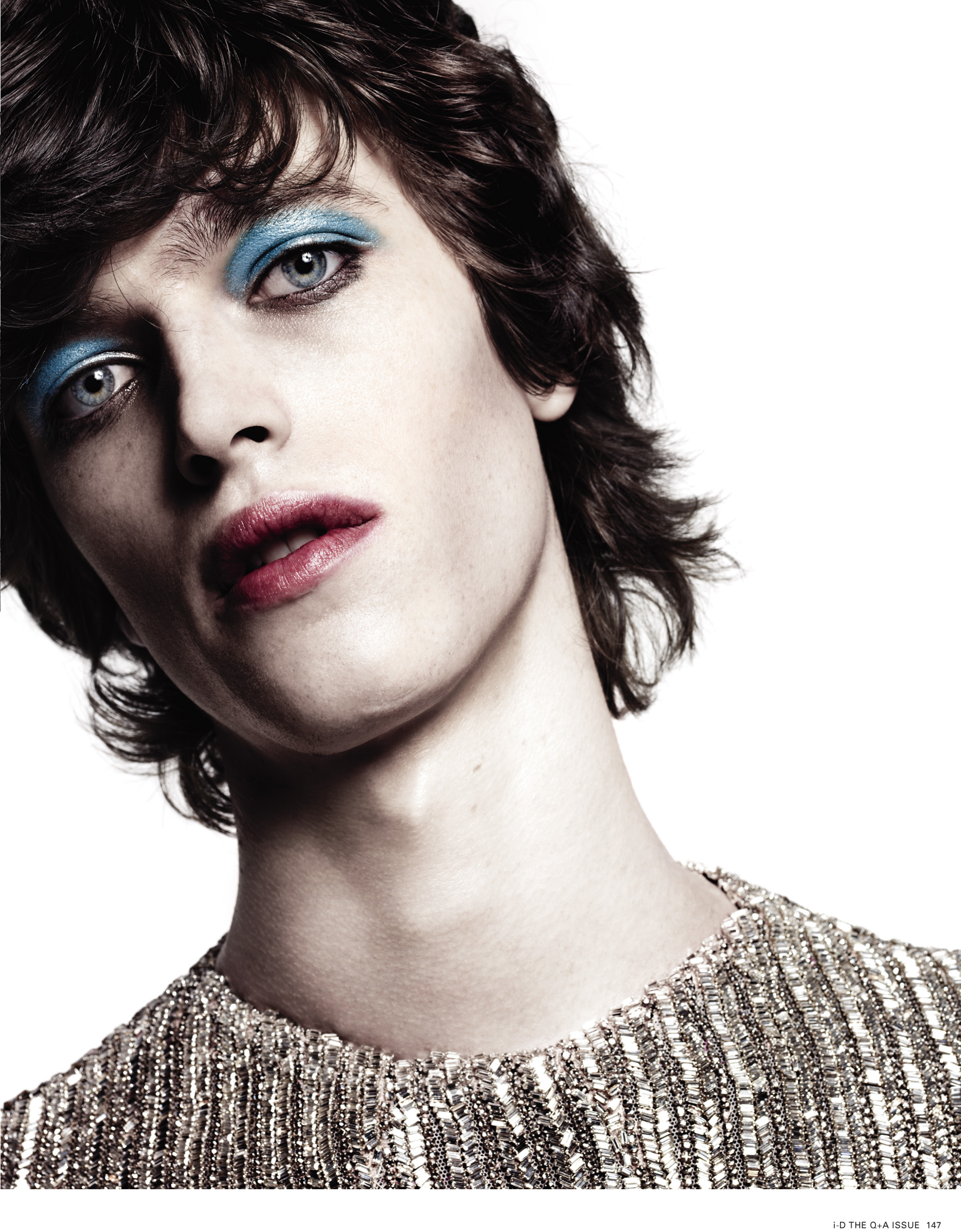 Hedi Slimane Shoots a Glam Reuben Ramacher for i-D