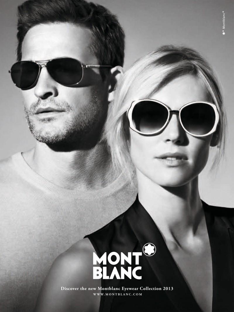 Carlotta Manaigo Photographs Sebastien Moura for Montblanc Spring/Summer 2013 Eyewear Campaign