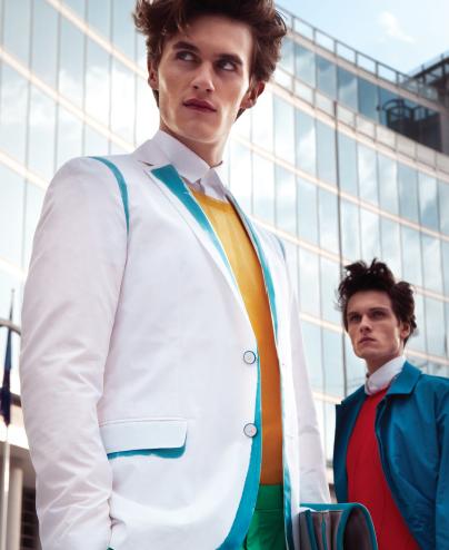 Luka Badnjar & Pierre-Harald Leducq by Jay Schoen in Salvatore Ferragamo for Fashionisto #7