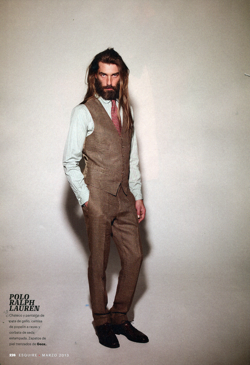 Patrick Petitjean Dons the Spring Collections for Esquire España