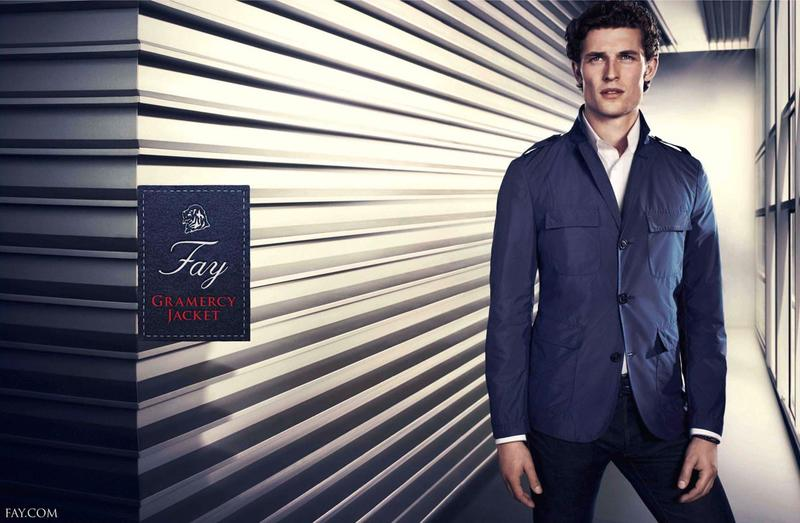 Wouter Peelen Stars in Fay's Spring/Summer 2013 Campaign