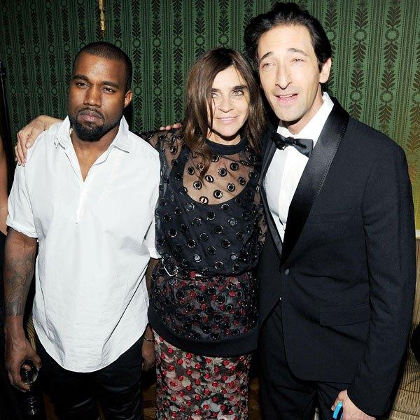 Adrien Brody Wears Maison Martin Margiela to CR Fashion Book Party