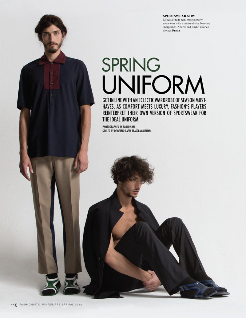 Andres Risso & Lucho Jacob by Paolo Simi for Fashionisto #6
