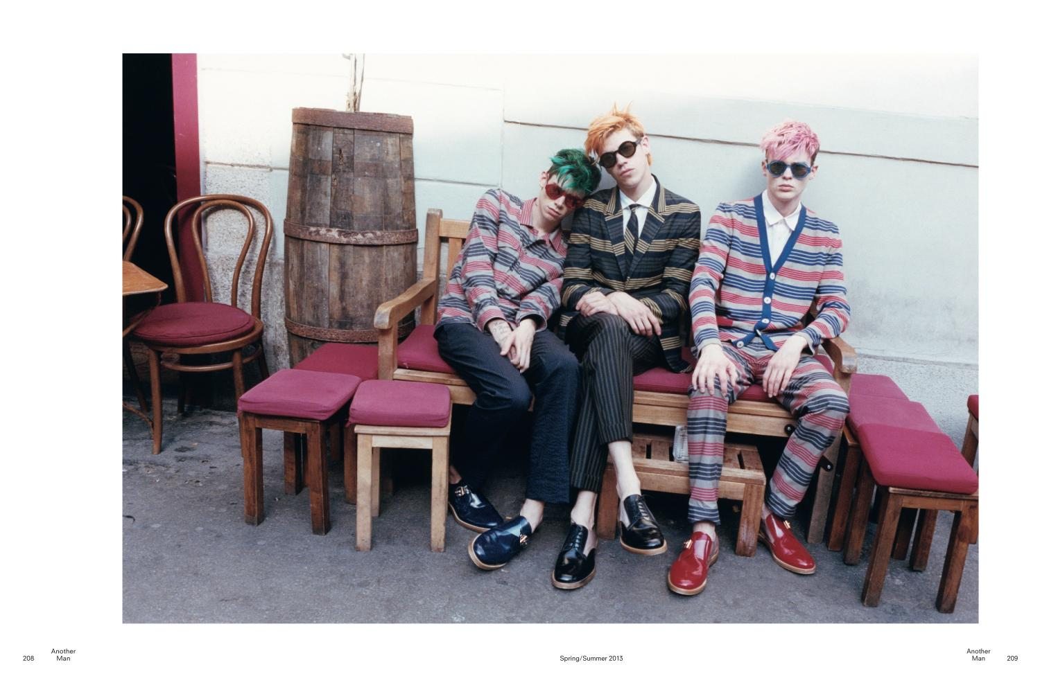 Shane Gambill, Cole Mohr & Lyle Lodwick Model Marc Jacobs Spring/Summer 2013 for AnOther Man